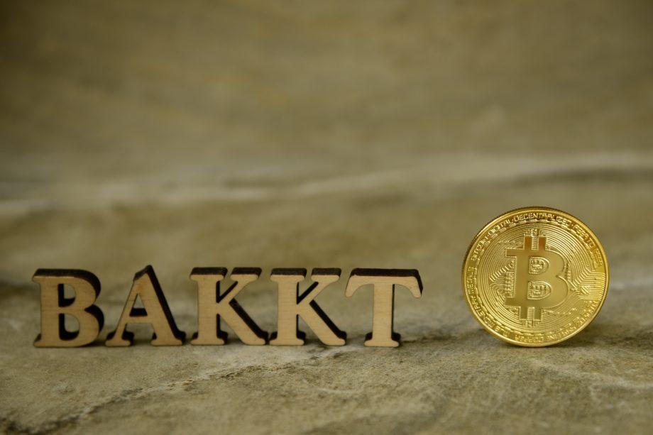 Logo Bakkt mit Bitcoin