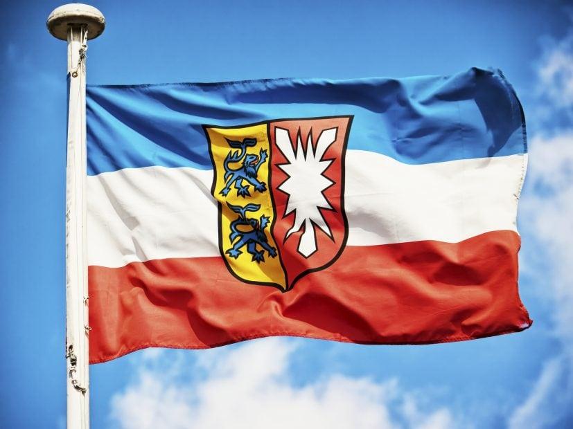 Schleswig-Holstein Flagge