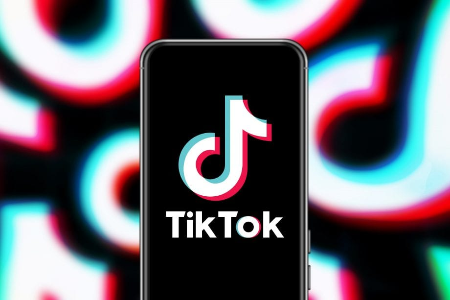 Tik Tok Logo auf Telefon