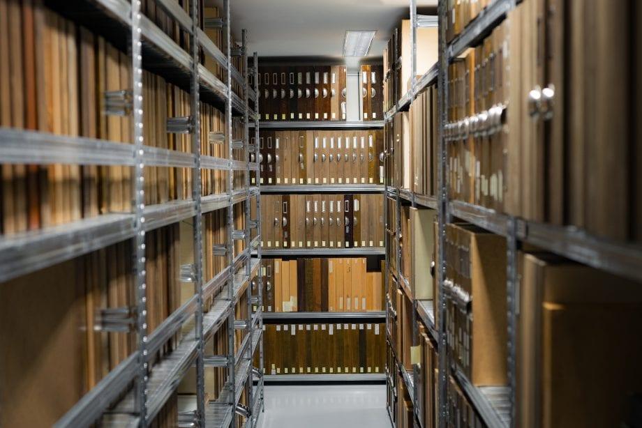 Archive voller Ordner